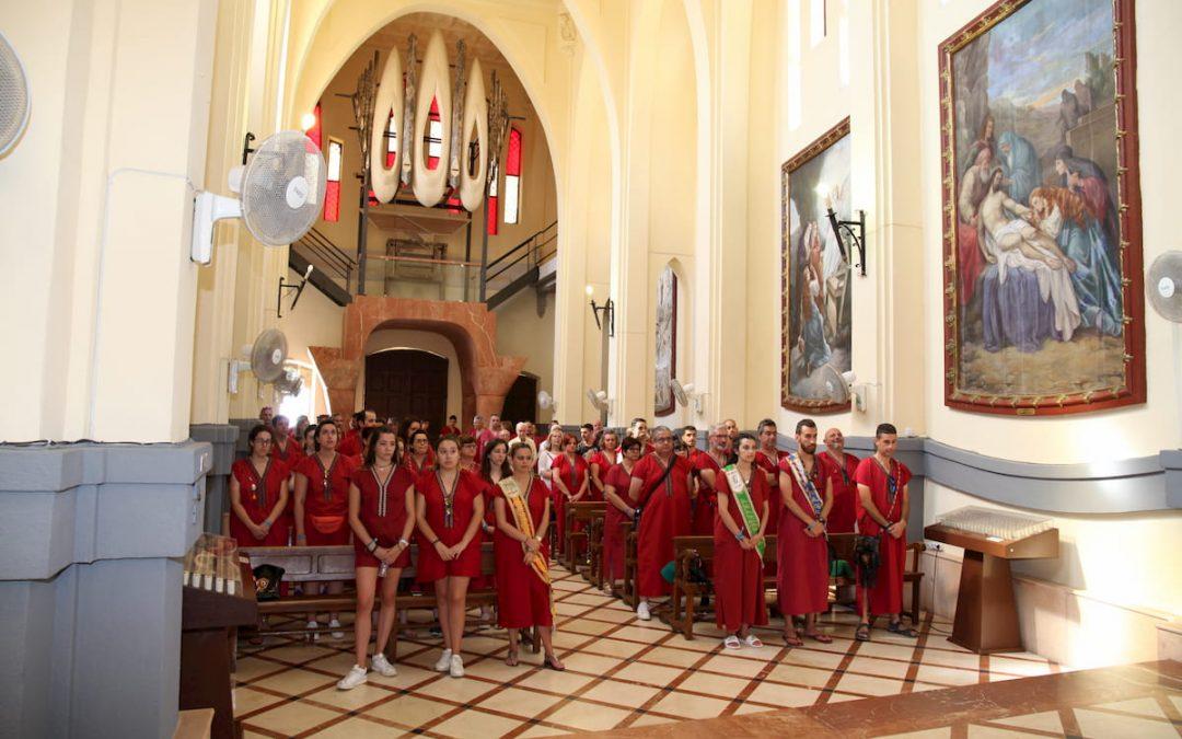 Tradicional Misa Homenaje a la Santa